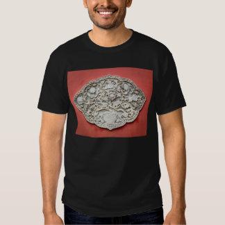 Arte de la pared del templo camisetas