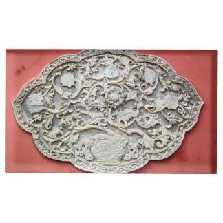 Arte de la pared del templo soporte para tarjeta de mesa