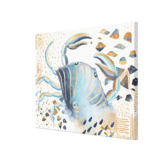 Arte de la pared del Watercolour del extracto del