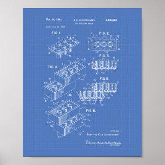 Arte de la patente del ladrillo 1961 del edificio