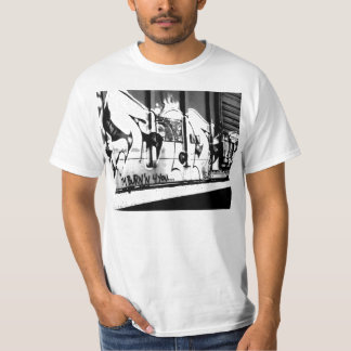 Arte de la pintada de Hip Hop Camiseta
