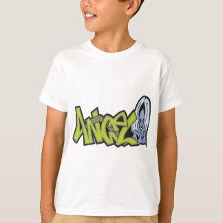 Arte de la pintada del ángel camiseta