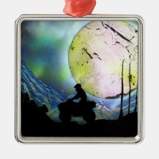 Arte de la pintura de aerosol del paisaje del adorno de cerámica