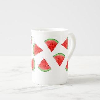 Arte de la taza de la porcelana de hueso de
