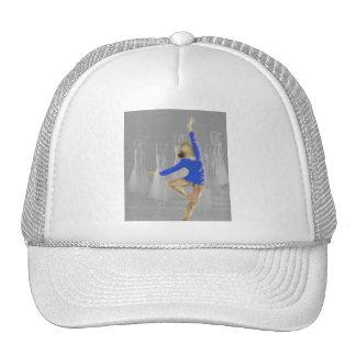 Arte de la vuelta del ballet gorras de camionero