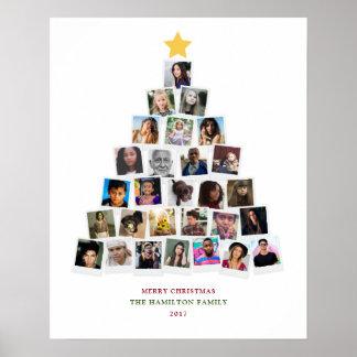 Arte de las fotos del árbol de navidad