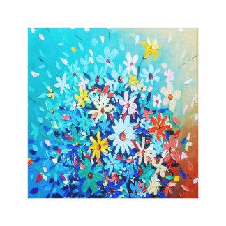 arte de los pétalos de la flor