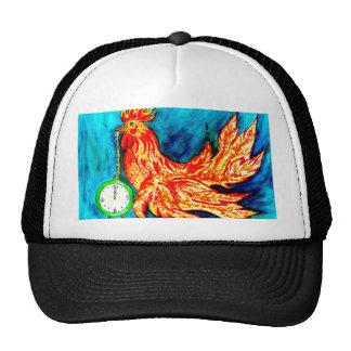 Arte de lujo 2 del gallo gorra