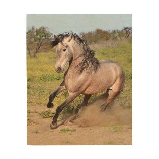 Arte de madera del caballo