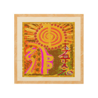 Arte de madera NAVIN JOSHI de la lona REIKI, hecho