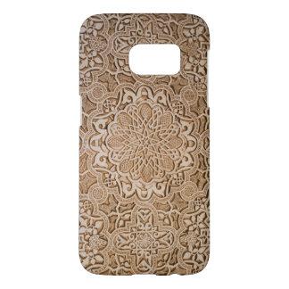 arte de madera tallado vintage hermoso del funda samsung galaxy s7