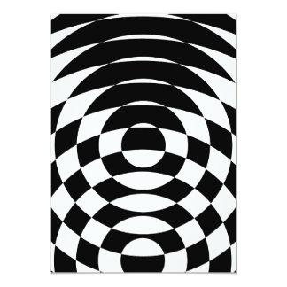 Arte de Op. Sys. del vintage del tigre 80s de Invitación 12,7 X 17,8 Cm