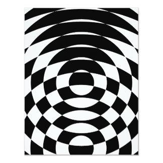 Arte de Op. Sys. del vintage del tigre 80s de Invitación 10,8 X 13,9 Cm