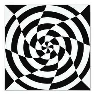 Arte de Op. Sys. del vintage del tigre 80s de Invitación 13,3 Cm X 13,3cm