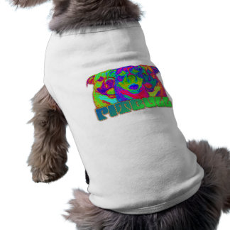 Arte de Op. Sys. Pitbull Camiseta De Perrito