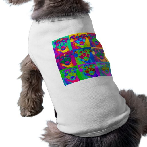 Arte de Op. Sys. Pitbull Camisetas De Perro