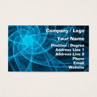 Arte de ordenador abstracto de la estrella de tarjeta de negocios