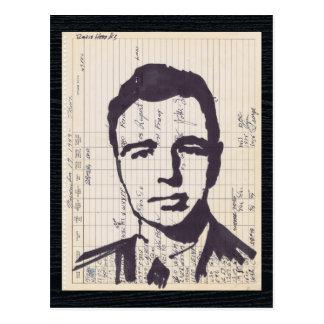 Arte de radio del expediente del equipo de postal