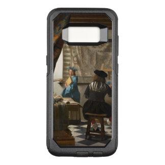 Arte de Vermeer de la pintura Funda Otterbox Commuter Para Samsung Galaxy S8