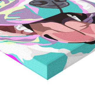 Arte de Wal del arte pop del pitbull