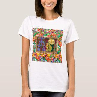 Arte decorativo de los símbolos curativos de Reiki Camiseta