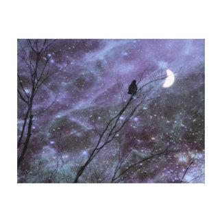 Arte decorativo del cuervo de la fantasía
