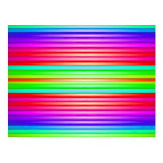 Arte del arco iris postal