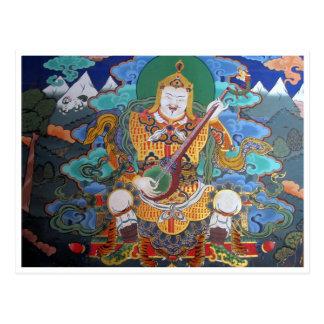 arte del budhist del dzong postal
