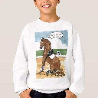 Arte del caballo EN EL PEDAZO ahora qué Sudadera