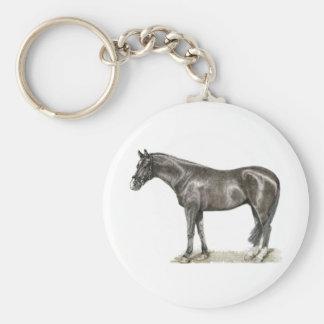 Arte del caballo llaveros personalizados