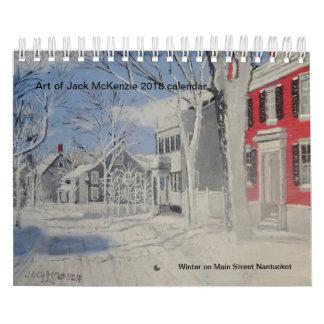 Arte del calendario de Jack Mckenzie 2018