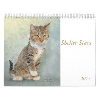 Arte del calendario que ofrece animales del