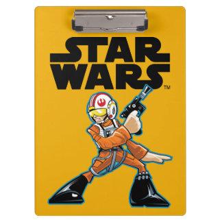 Arte del carácter de Lucas Skywalker
