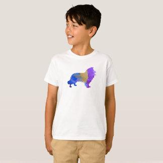 Arte del collie camiseta
