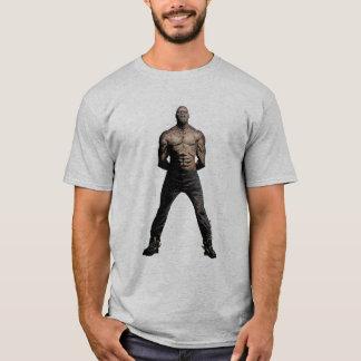 Arte del cómic de Croc del asesino del pelotón el Camiseta