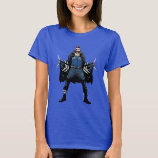 Arte del cómic del bumerán del pelotón el | del camiseta