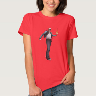 Arte del cómic del EL Diablo del pelotón el | del Camiseta