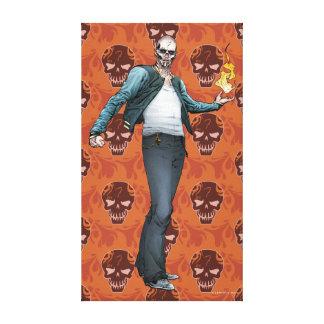 Arte del cómic del EL Diablo del pelotón el | del Lona Estirada Galerias