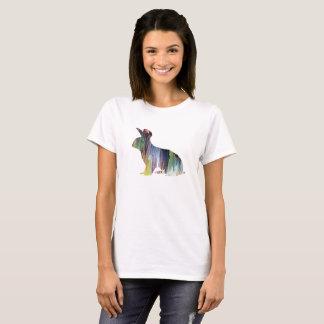 Arte del conejo camiseta