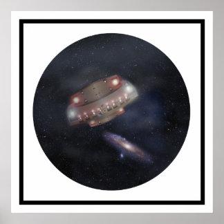 Arte del espacio de Ghini Posters