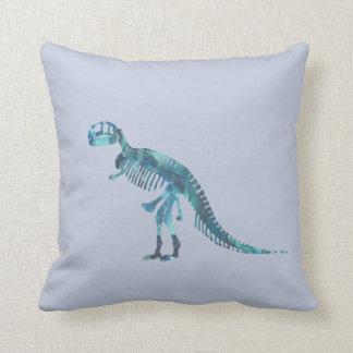 Arte del esqueleto del rex del Tyrannosaurus Cojín Decorativo