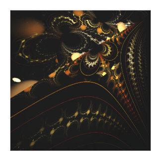 Arte del fractal impresiones en lona estiradas