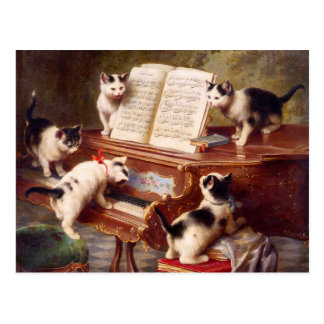 Arte del gato: El decreto del gatito Postal