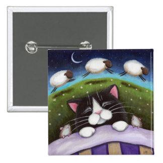 Arte del gato y del ratón de la fantasía pins