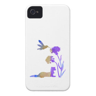 Arte del hurón funda para iPhone 4
