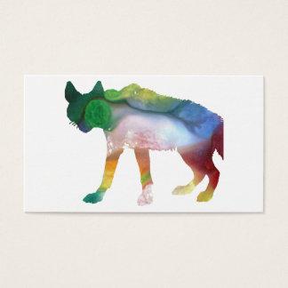 Arte del Hyena Tarjeta De Negocios
