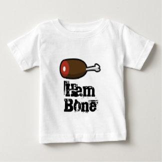 Arte del jamón del hambone del pixel camiseta de bebé