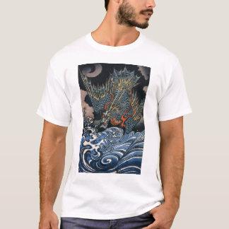 Arte del japonés del vintage camiseta