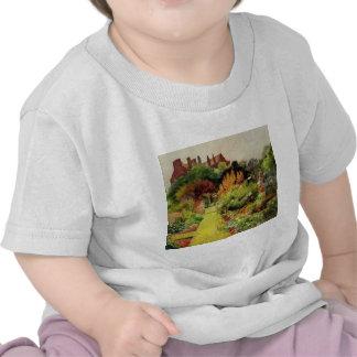 Arte del jardín del vintage - MacGregor Jessie Camiseta