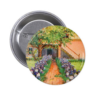 Arte del jardín del vintage - Steele, delegado de Pins
